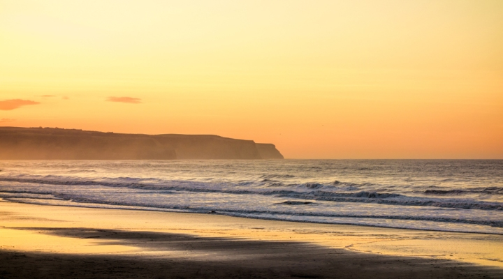 Whitby sunset on the RX100
