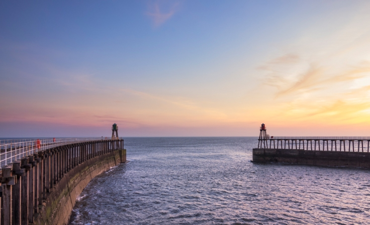 Whitby sunrise on an RX100