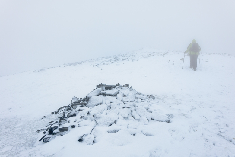On the way to the summit of Skiddaw