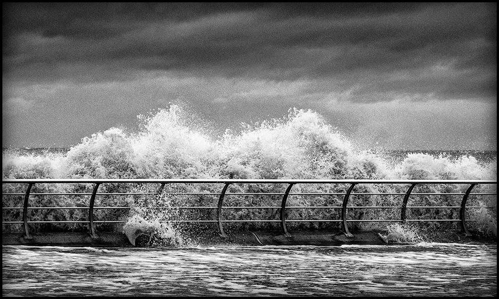 Blackpool Seawall. Sony RX10