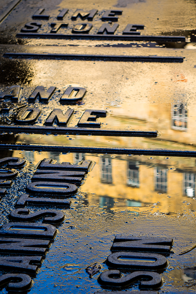Reflections in Dean Clough. Captured with the Sony RX10
