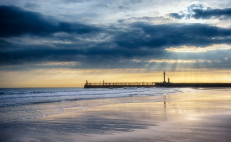 Whitby, captured on the Sony RX100 with 0.6 ND graduated filter. Post processing in Nik Color Efex and Viveza and a tweak in Photoshop.