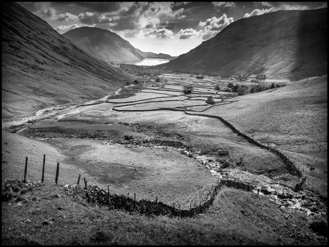 The great wall of Wasdale