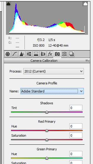 how to change color profiles lightroom