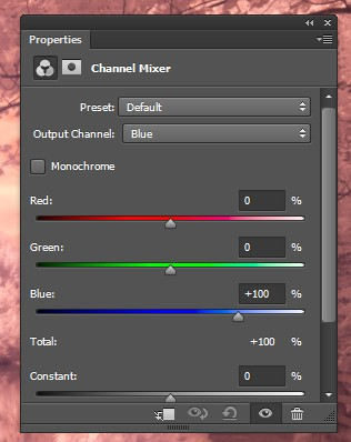 Channel Mixer in Photoshop