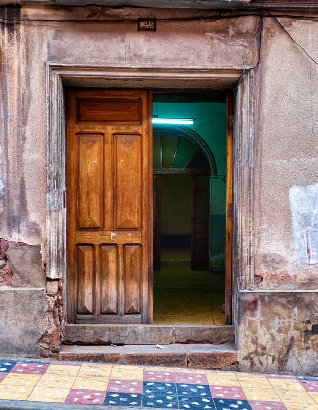Doorway in Potasi, Bolivia. Olympus EM5, ISO400, f/5.6