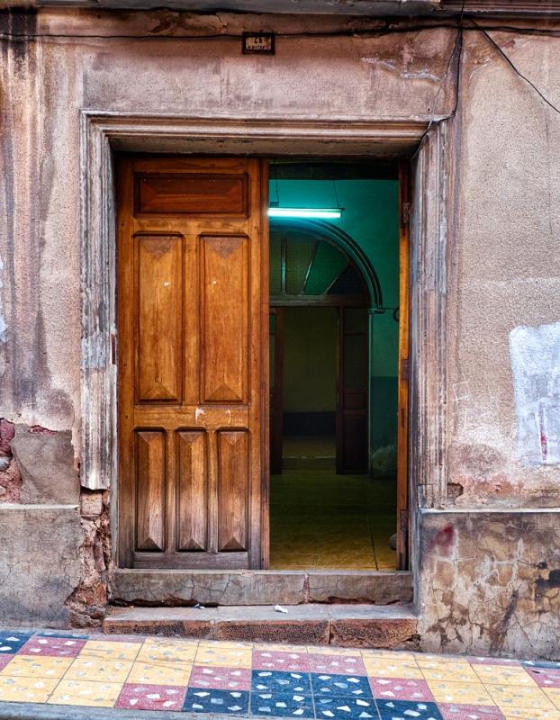 Doorway in Potasi, Bolivia. Olympus EM5, ISO400, f/5.6