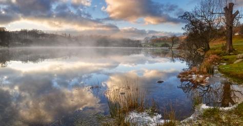 Loughrigg Tarn, The Lake District.