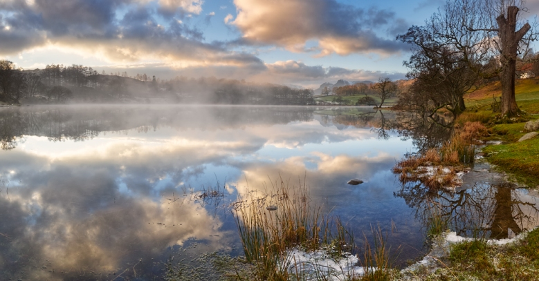 Loughrigg Tarn, The Lake District.
