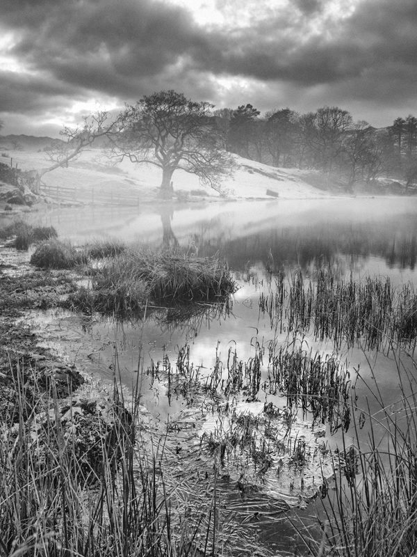 "Loughrigg Tarn captured on a Panasonic LX7, ISO80, F/5.0, 1/8"" handheld"