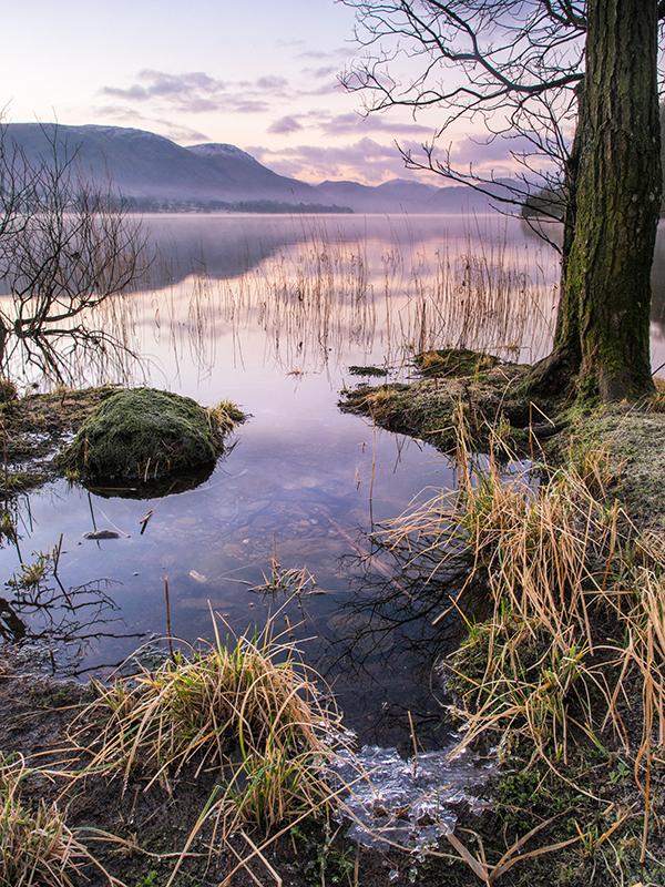 """Ulswater, Cumbria. Olympus EM5 + 9-18 Olympus lens. f/9.0, 1.3"""" at ISO200."""