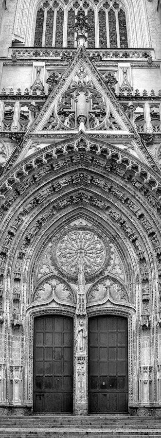 Nantes Cathedral, RX10 4 image vertical stitch