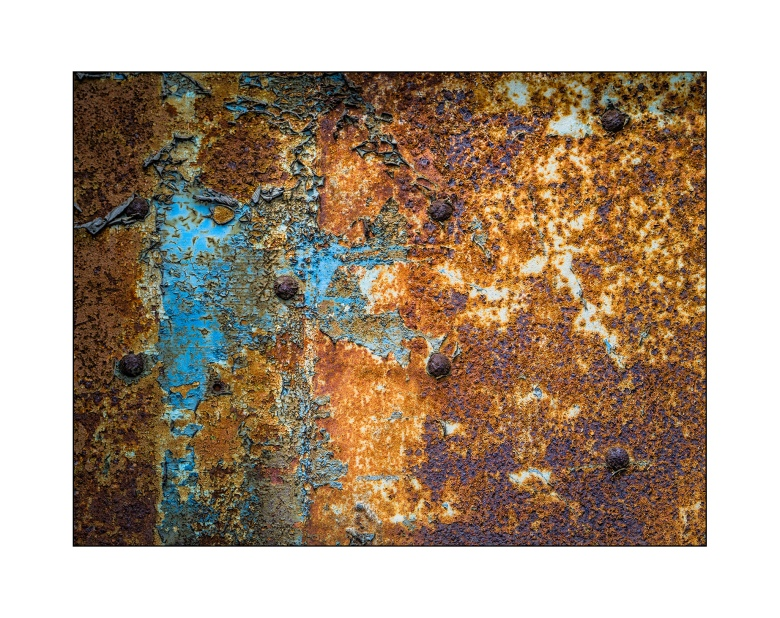 Rust - Panasonic GM1, 35-100mm lens. Processing in Lightroom with Nik Filters.
