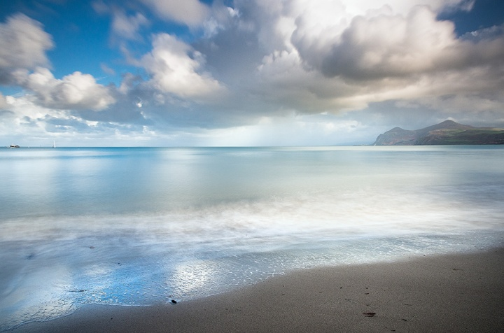 "Llyn Peninsula, North Wales. Olympus EM5, 12-40mm lens at 12mm. ISO200, f/8, 8.8"", Lee 10 stop filter."