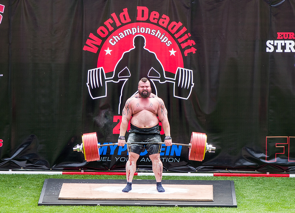 "Eddie Hall World Record Deadlift 463Kg, 11th July 2015. Sony RX10, ISO80, f/4.5, 1/250"", 200mm"