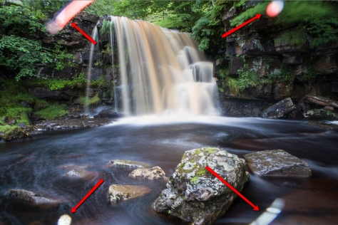 Light leaks on the Canon G7X, evident in long exposures