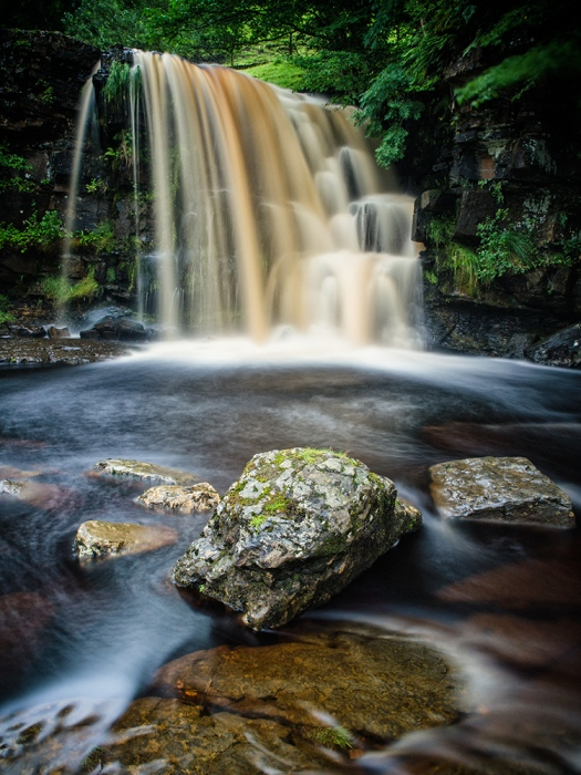 Waterfall at Keld in the Yorkshire Dales. Olympus EM5 and Lee 6 stop ND Filter