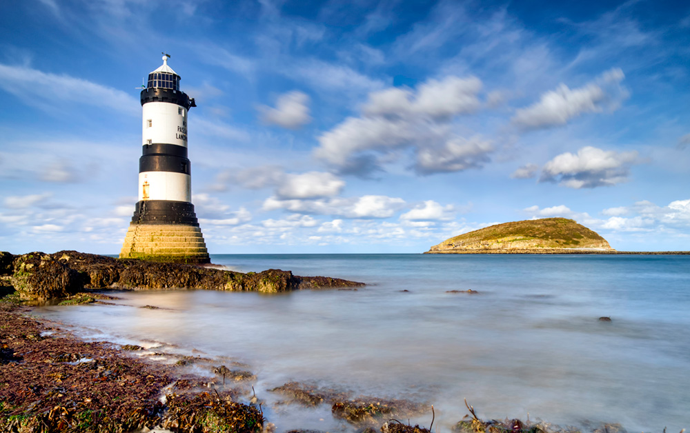 Penmon LIghthouse, Anglesey, North Wales