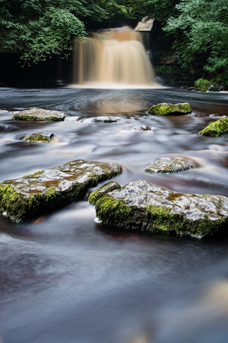 "West Burton Falls, Yorkshire Dales. Canon G7X, ISO125, f/5.0, 30"", Lee Little Stopper filter"