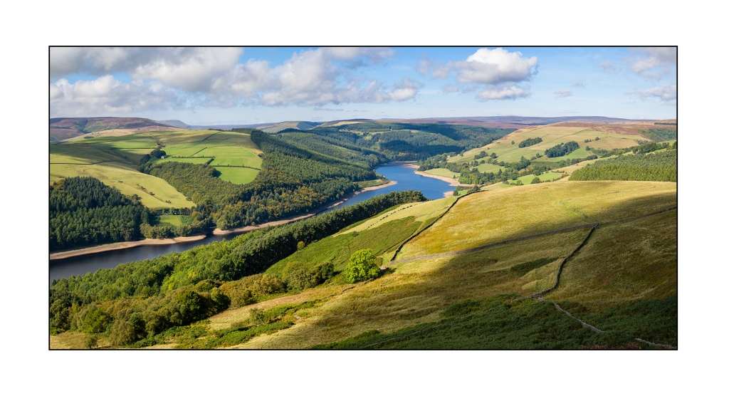 Ladybower Reservoir, The Peak District. Sony RX10