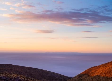 Salar de Uyuni salt flats at dawn, Bolivia