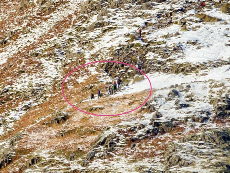 Example 1 - Walkers on the hill