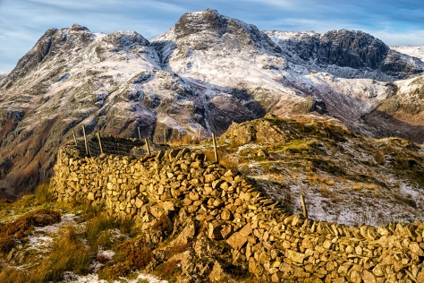 """The Langdale's from Side Pike, The Lake District. Sony A7R with Canon 24-70 f/4.0 L set to 61mm. ISO50, f/11.0, 1/30"""" handheld"""