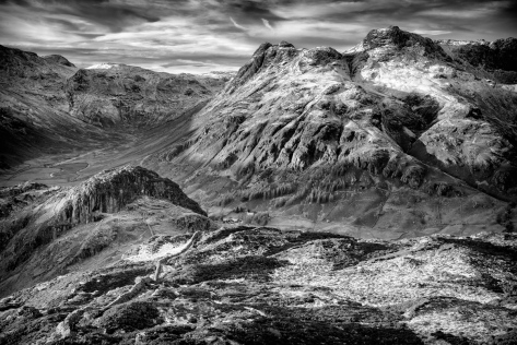 Langdale Pikes. Captured using the Sony A7R.