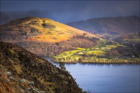 View from above Ullswater in the Lake District. Captured with a Sony RX10.