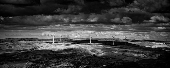 Finished wind farm image