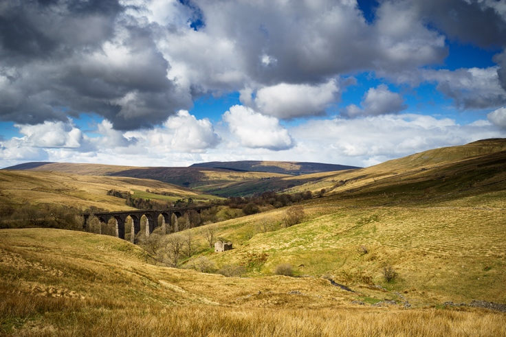 "Dent Viaduct in the Yorkshire Dales. Rare perfect conditions for Landscape Photography. Sony A7r + Canon 24-70mm lens. ISO100, f/16.0, 1/60"", Tripod and 0.3 ND Grad filter."