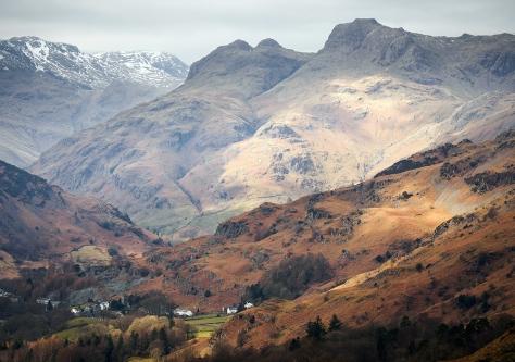 The Langdales in the Lake District. Olympus EM5, 45-150 lens. Handheld.