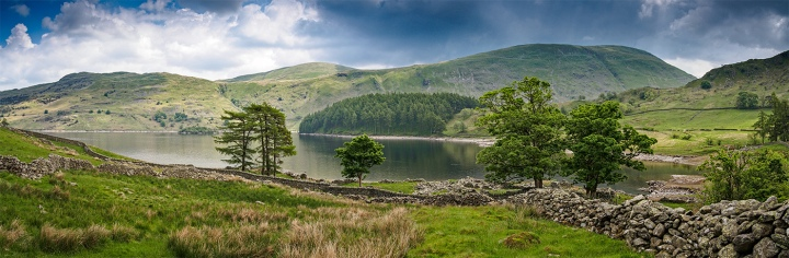"""Haweswater. 4 image series on the Olympus EM5 with 14mm prime. ISO200, 1/160"""" at f/8.0"""