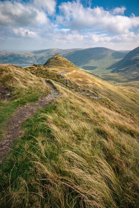 The hills around Haweswater, Cumbria.
