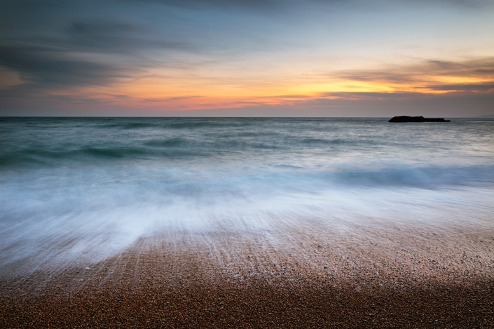 The beach at Durdle Door, Dorset. Canon 5D MkII. This is an old image that I decided to reprocess using current technology. The results seem much improved.