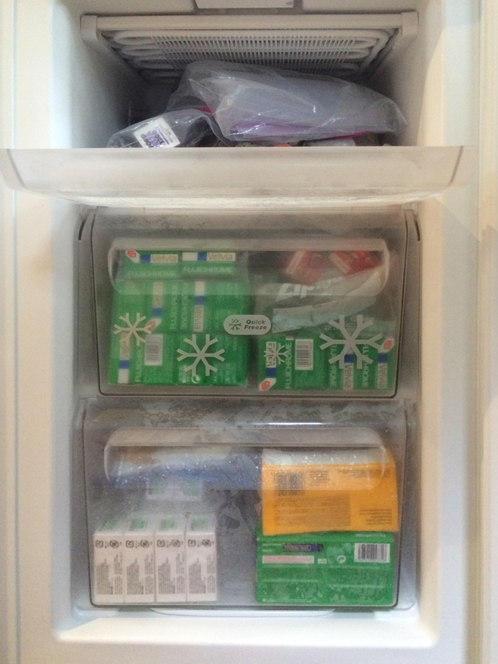 New film freezer