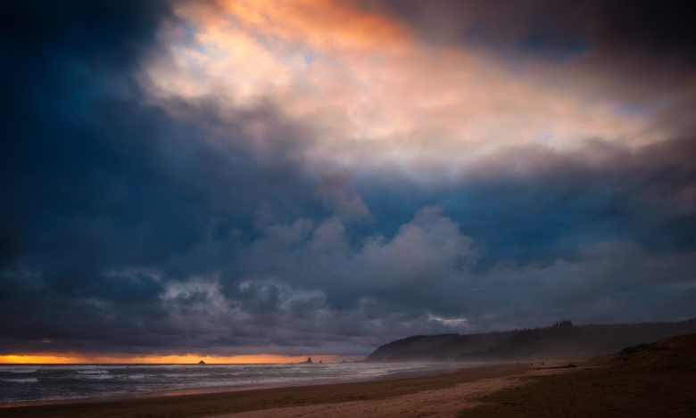 Cannon Beach, USA. Olympus EM5