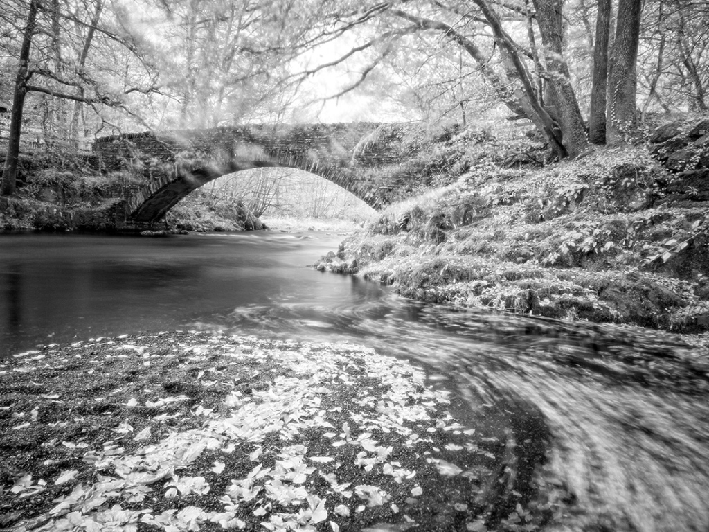 Clappersgate Bridge, The Lake District. Olympus EM5 with Infrared Conversion.