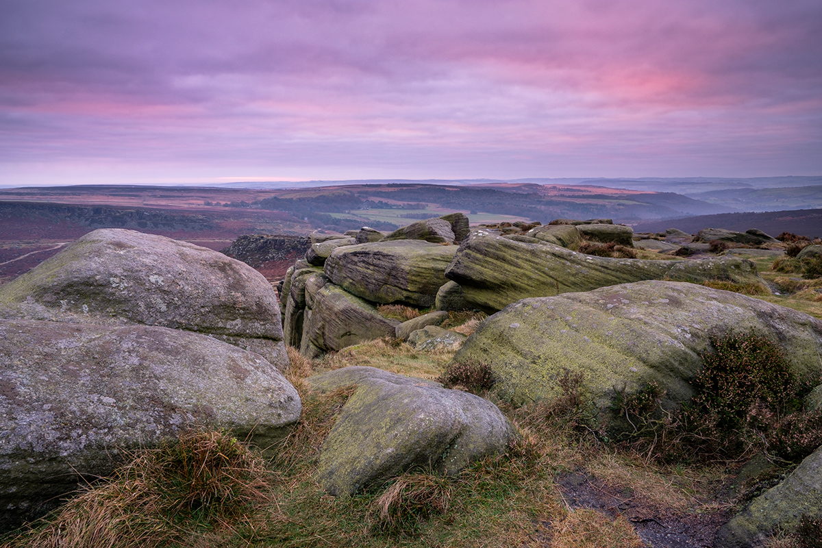 Sunrise in the Peak District