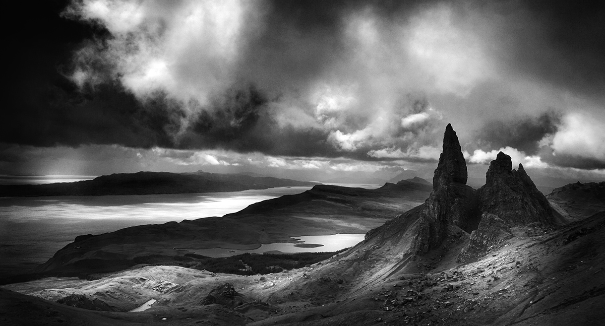 Old Man of Storr on Skye, Scotland