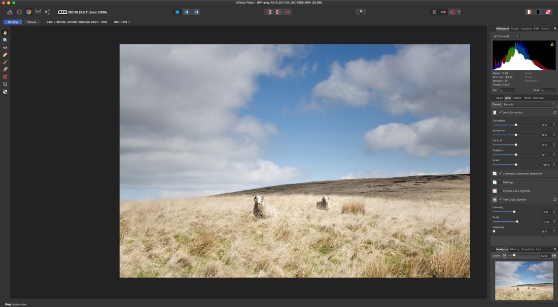 Affinity Photo screenshot 1