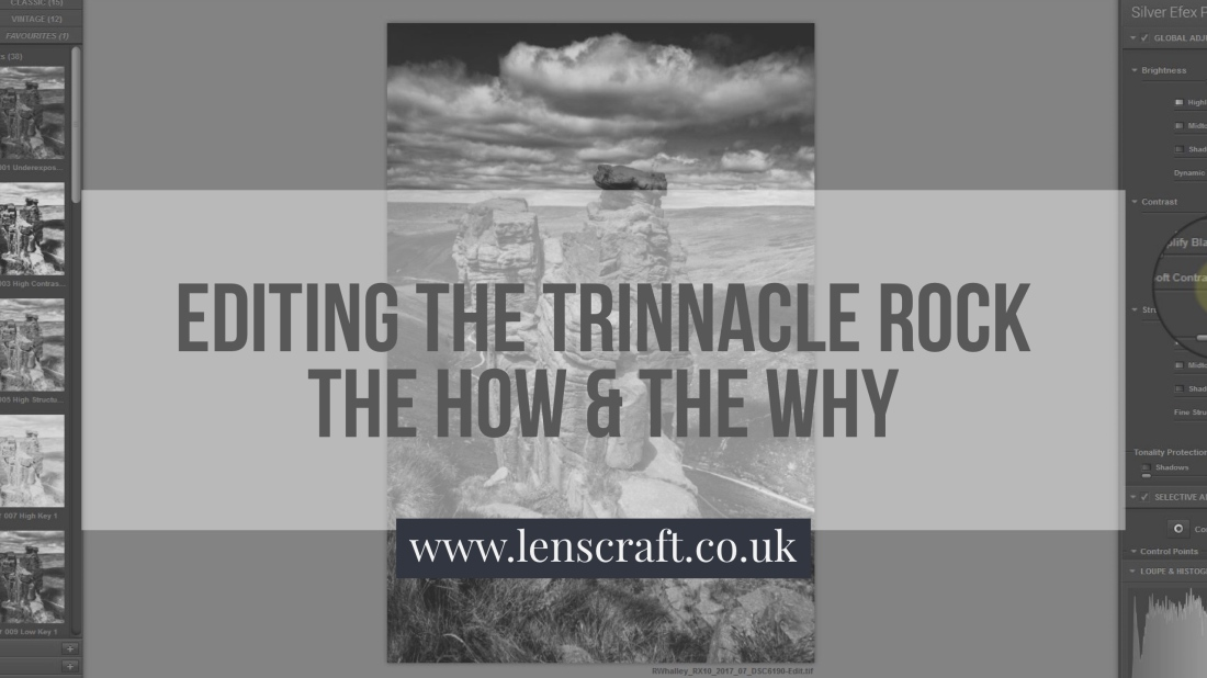 Editing the Trinnacle Rock You Tube Video