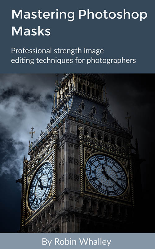 Mastering Photoshop Masks Book Cover