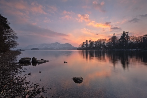 Derwentwater, Keswick, Lake District.