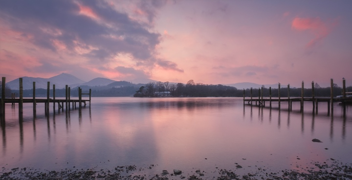 Derwentwater, Keswick, The lake District.
