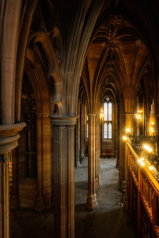 John Rylands Library, Manchester.