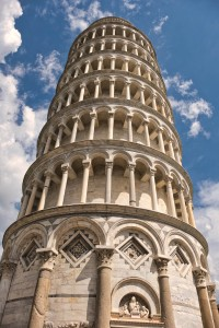 Leaning Tower, Pisa, Italy.