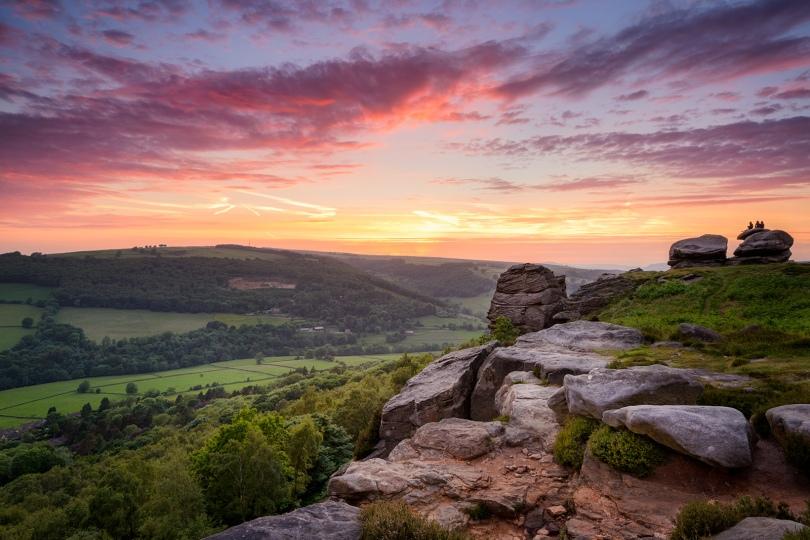 Froggatt Edge, The Peak District