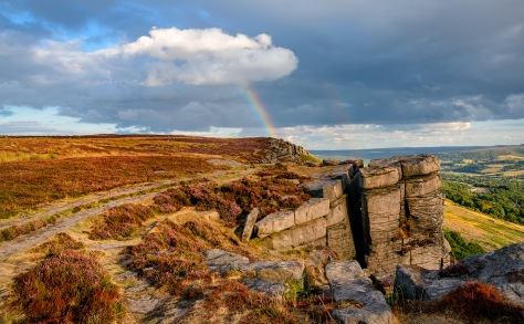 Bamford Edge, The Peak District.