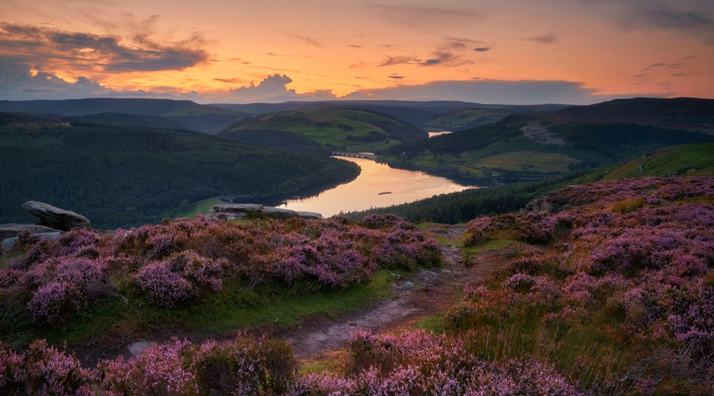 Bamford Edge, The Peak District, England